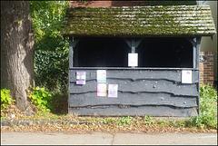 Dorchester bus shelter
