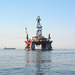 Namibia, West Eclipse Drilling Jack up in Walvis Bay