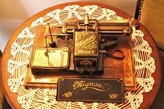 Mignon Schreibmaschine Modell 2 anno 1904