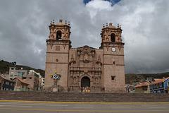 Peru, Puno, The Cathedral