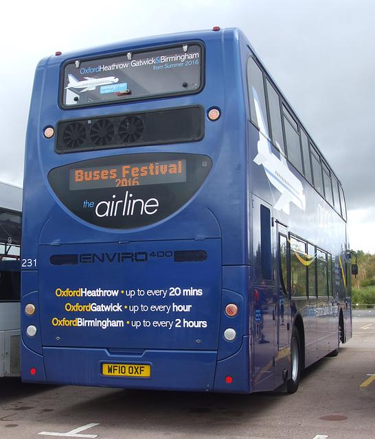 DSCF4740 Oxford Bus Company WF10 OXF - 'Buses Festival' 21 Aug 2016