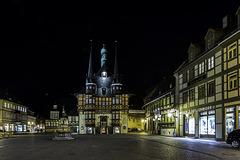 Marktplatz und Rathaus zu Wernigerode