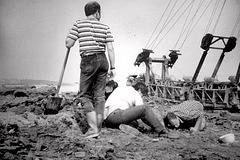 1988 Ausgrabung im Geiseltal