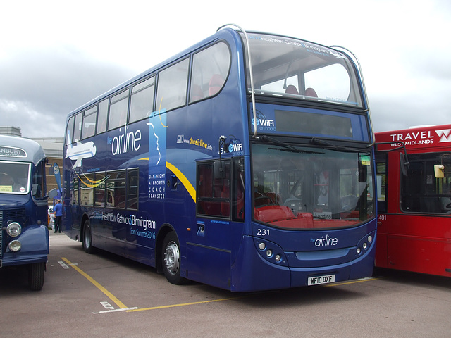 DSCF4743 Oxford Bus Company WF10 OXF - 'Buses Festival' 21 Aug 2016