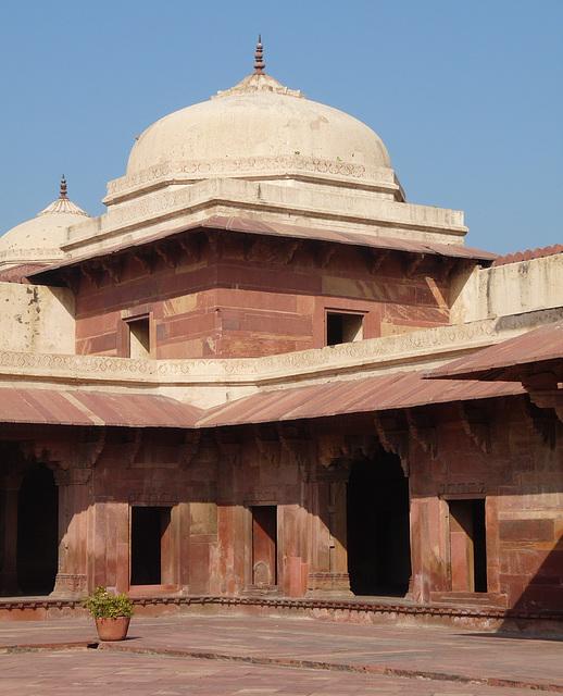 Fatehpur Sikri- Raja Birbal's House