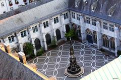 Quadrum des Aachener Doms