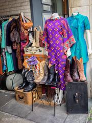 Retro 1 - Luggage and Clothing