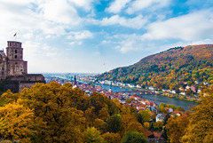 Herbst / Fall in Heidelberg (270°)
