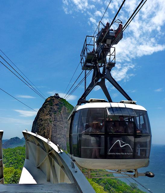 Rio de Janeiro : Caminho Aèreo Pão de Açúcar - (866)