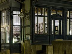 Cafe zum Roland am Abend