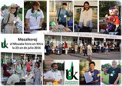 Mozaikeroj el Movada Foiro en Nitra 2016
