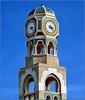Ṣalāla : la torre dell'orologio nella residenza del Sultano Qaboos