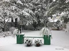 La neige semble là pour rester....