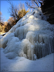 Waterfall - SPC 5/2017 5° place - Ice Waterfall Zillhausen