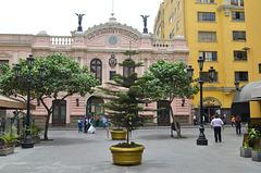 Lima, Central Post Office and Telegraph at Jirón Conde de Superunda Street