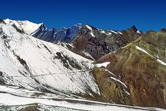 Paso de Uspallata (3832 m) - Chilean side