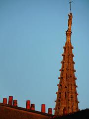 le clocher de mon église