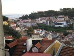Lisbon roofs, from Graça belvedere