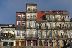 Façades le long du Douro, Porto (Portugal)