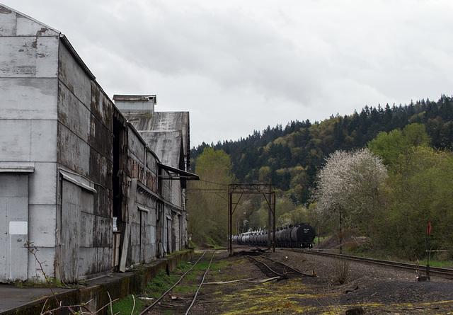 Portland Linnton rail (#0499)