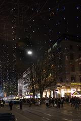 Bahnhofstrasse Zürich im Dezember (© Buelipix)