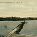 7150. Partridge Island and Breakwater, St. John, N.B.