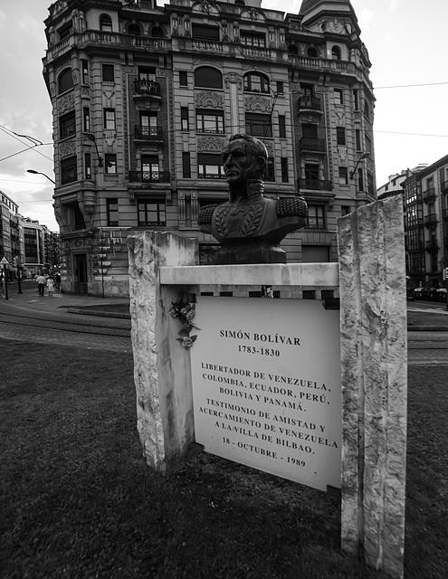 En memoria de Simón Bolivar