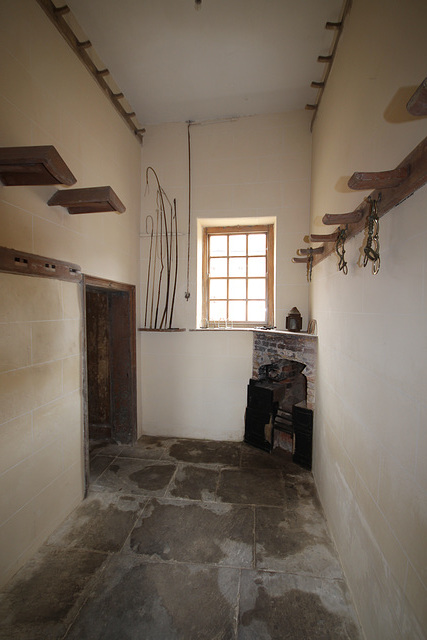 Harness Room, Stables, Burton Constable Hall, East Riding of Yorkshire