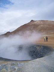 Islande/ Iceland/ Island  : Le feu à ses pieds
