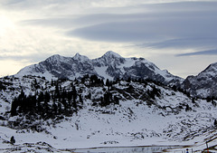 Auf dem Hochtannbergpass (Vorarlberg)