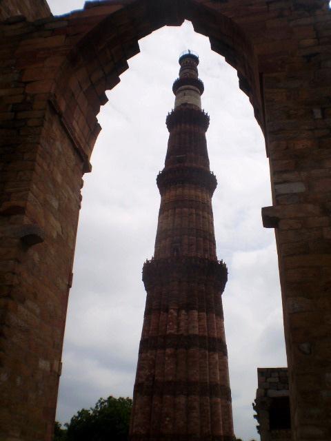 Qutub Minaret (12th century).