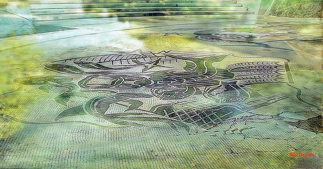 HFF to YOU ALL !!!!! Fences in the Mosaics in a Puddle :-)