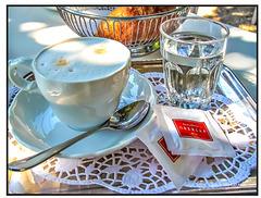 Pause in Wien