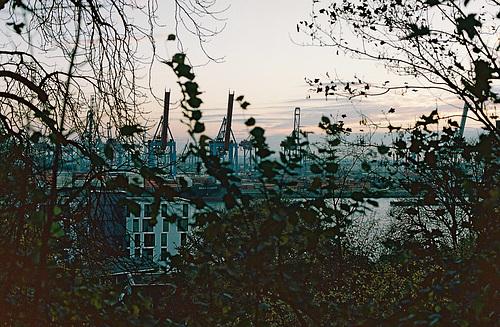 Elbe bei Neumühlen, Portra 160 // 000022