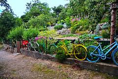 Happy Fahrrad Fence Freitag !