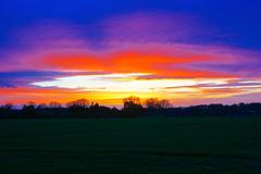 Return of the nice sunset