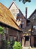 """Lüneburg, Hinterhof in der Rote Hahnstraße, """"Altes Hospiz"""""""