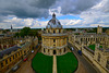 Radcliffe Camera with Brasenose and All Souls Colleges