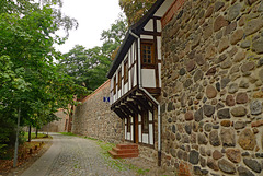 Germany - Neubrandenburg, city wall