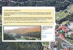 Panoramio Fotos bald nicht mehr sichtbar in GE