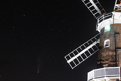 Comet Neowise and Cley Windmill
