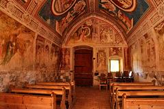 Gotische Fresken - St. Helena