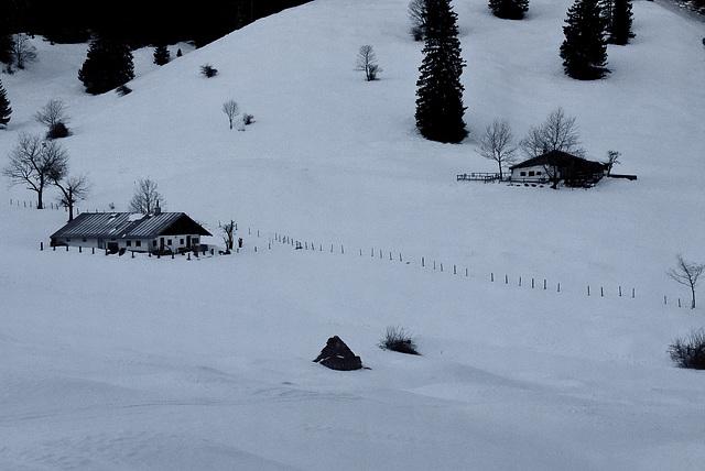 Winter auf der Dalsenalm