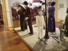 Costumes from 1908 to 1920.