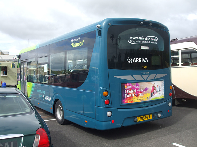DSCF4796 Arriva the Shires LK15 FFT - 'Buses Festival' 21 Aug 2016