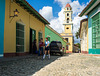 Street View of the bell tower of the Iglesia y Convento de San Francisco, Trinidad, Cuba