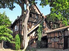 Lüneburg, historischer Hinterhof