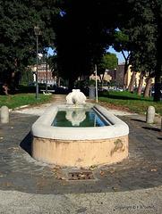 Fontanile di Clemente XI - Lungotevere Aventino,4- Roma