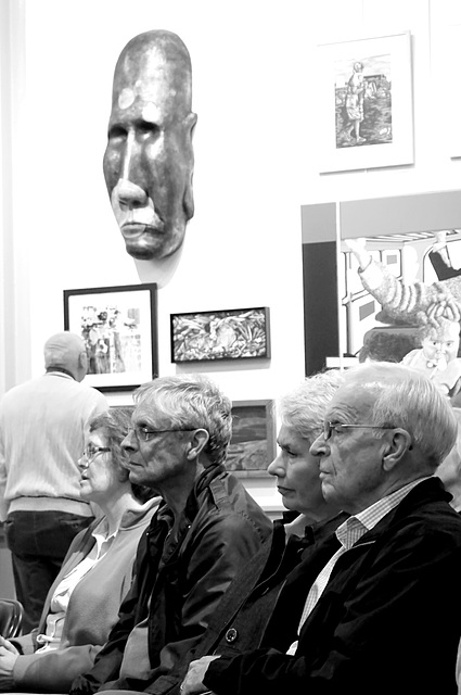 Masks in the gallery