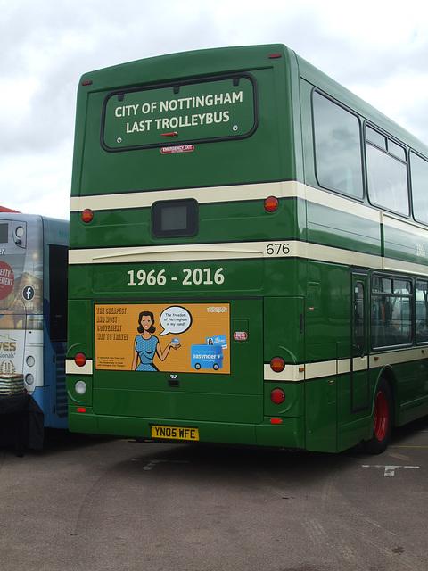 DSCF4816 Nottingham YN05 WFE - 'Buses Festival' 21 Aug 2016